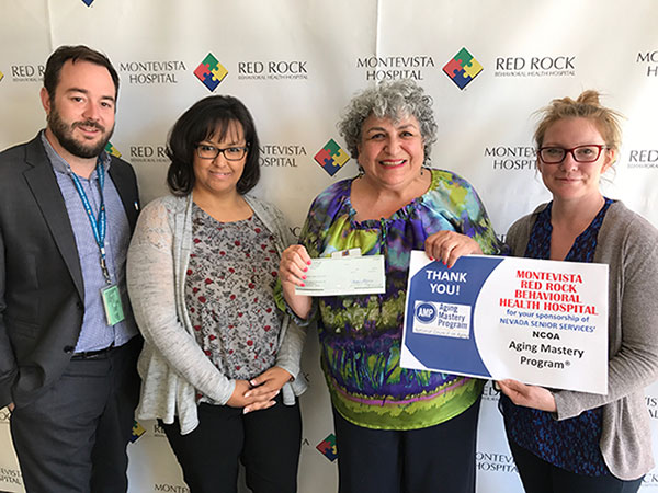 Nevada Senior Services - Adult Day Care Centers of Las Vegas and Henderson - Nevada Senior Services Appreciates New Sponsor  Montevista/Red Rock Behavioral Health Hospital