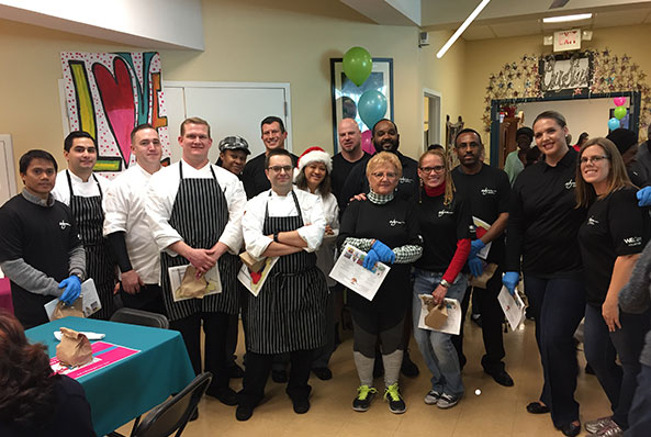Wynn Las Vegas Angels Brighten Season for Seniors at Adult Day Care Centers of Las Vegas and Henderson